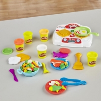 Набор для лепки Кухонная плита + 5 баночек пластилина