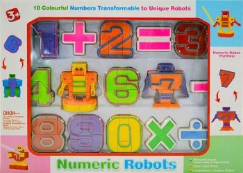 Цифровой трансформер Numeric Robots № 500-21