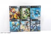 Конструктор 2015-31 Bionicle  59+ дет Фантастические Герои