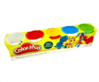 Тесто для лепки Пластилин Color 5 цветов