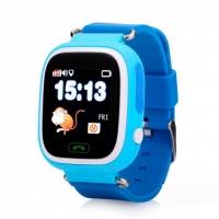 Smart baby watch Wonlex GW100 Голубые детские сенсорные часы