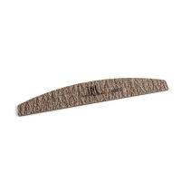 Пилка для ногтей лодочка 80/80 экстра-класс (коричневая) в индивидуальной упаковке