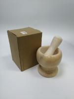 Ступка с пестиком Мрамор 10,5х14,5 см