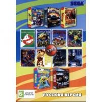 Картридж Sega 13в1 Sega Open Season 3 / MAFIA / ТАНКИ 2011 / KOLOBOK/  BOMBER+..