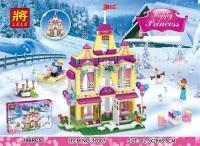Конструктор 37007 Холодное сердце 390дет Сверкающий замок Анны