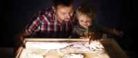 Детский стол Рисуй песком Happy 25х35 см