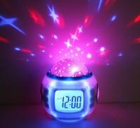 Электронные часы + музыкальный ночник Music and starry sky calendar