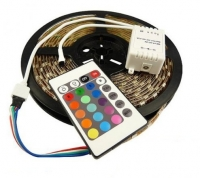 Светодиодная лента с пультом (блистер) 5м 4.4 W RGB 3528-60