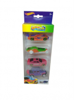 Машинки Hot Wheels 4 шт Меняют цвет в воде