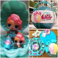 Кукла  LOL (Лол) - набор Жемчужный шар Ракушка 2 куколки BB61 (свет)
