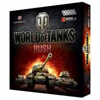 Настольная игра World of Tanks: Rush. 2е издание (на русском)