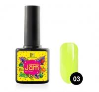 Гель-лак TNL Summer Jam №03 - неоновый лаймовый (10 мл.)