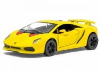 Машина металлическая Lamborghini Sesto Elemento инерционная Kinsmart