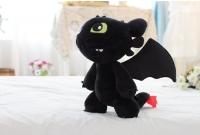 Мягкая игрушка Ночная Фурия большая 30см
