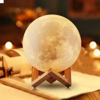 Ночник Луна 3D Moon Lamp LED 15см