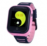 Smart baby watch Wonlex KT11 4G видеосвязь Розовые детские сенсорные часы