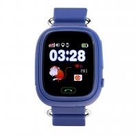 Smart baby watch Wonlex GW100 Синие детские сенсорные часы