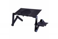 Многофункциональный Столик трансформер для ноутбука Laptop Table с 2 кулерами