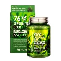 Сыворотка ампульная с экстраком Зеленого Чая Green Tea Seed All-in-One Ampoule FarmStay