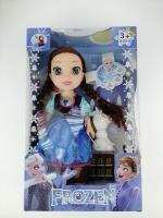 Куклы Frozen Анна или Эльза + снеговик 25см