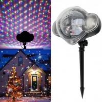 Уличный проектор Snow Flower Lamp с пультом, мультирежим 2 цвета
