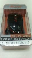 Беспроводная мышь Wireless Optical Mouse G-530 2400DPI +2.4Ghz Эргономичный дизайн