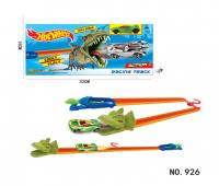 Набор Hot Wheel Динозавр, Пусковая установка + машинка