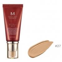 Тональный ВВ крем для лица #27 M Perfect Cover BB Cream SPF42/PA+++ (No.27/Honey Beige) 50g Missha