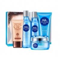 Уценка Набор BioAqua Water Get Hyaluronic Acid Gift Box 5в1 (повреждена упаковка)
