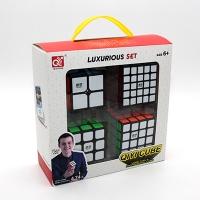 Набор Кубики 4в1 QIYI CUBE Luxurious Set