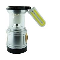 Кемпинговый складной фонарь 3в1 на сол.батарее овальная лампа JX-5881