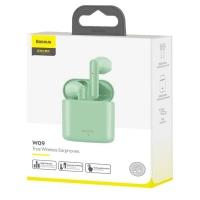 Беспроводные наушники Baseus Encok True Wireless Earphones W09 Green