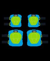 Комплект защиты Ridex Zippy S 3в1 налокотники, наколенники, назапястники