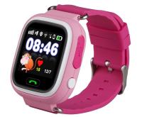 Часы детские Smart Baby Watch Tiroki Q80 Розовые