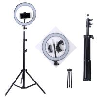 Лампа Кольцо-подсветка 26см с Треногой Ring Fill Light + держатель для телефона