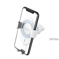 Держатель с Беспроводной зарядкой 2в1 Hoco CW17 Sage in-car Wireless fast charger