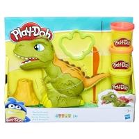 Набор для лепки Динозавр Плей-До 4 цвета