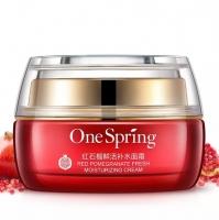 Крем для лица Гранатовый One Spring Red Pomegranate Fresh Moisturizing Cream