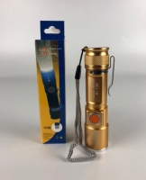 Мини фонарик LED FlashLight с фокусом + USB Charge зарядка