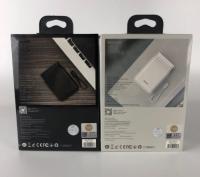 Внешний аккумулятор Baseus PPXB-01/02 10000mAh USB + Micro + Type-C Белый, Черный