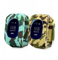 Часы детские SmartBaby q50 с GPS Камуфляж