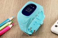 Часы детские SmartBaby q50 с GPS Голубые