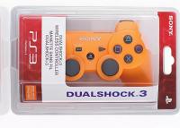 Джойстик для PS3 Controller Wireless Dual Shock Orange