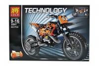 Конструктор 38041 Technology 253 дет Кроссовый Мотоцикл