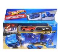 Набор Hot Wheel Alloy Car, Грузовик + 2 машинки HW-113