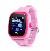 Smart baby watch Wonlex GW400S Розовые детские сенсорные часы