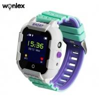 Smart baby watch Wonlex KT03 Зеленые детские сенсорные часы
