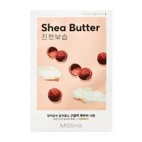 Тканевая Маска для Лица с Экстрактом Масла Ши Airy Fit Sheet Mask Shea Butter Missha
