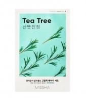 Тканевая Маска для Лица с Экстрактом Чайного Дерева Airy Fit Sheet Mask Tea Tree Missha