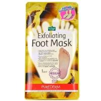 Отшелушивающая Пилинг-Маска для ног  Exfoliating Foot Mask Purederm